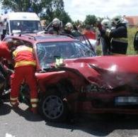 közúti baleset személyi sérüléssel
